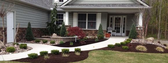 finshed front yard